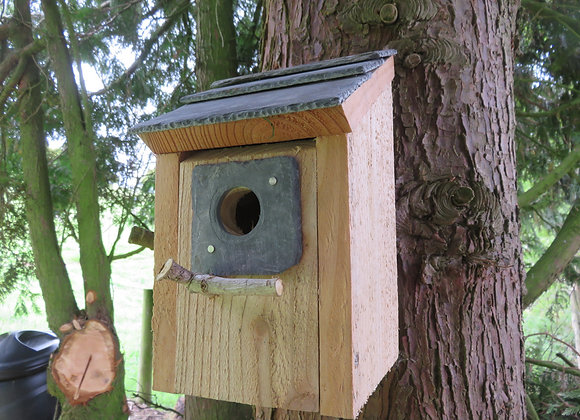 Lean to Nest Box - 32 mm hole