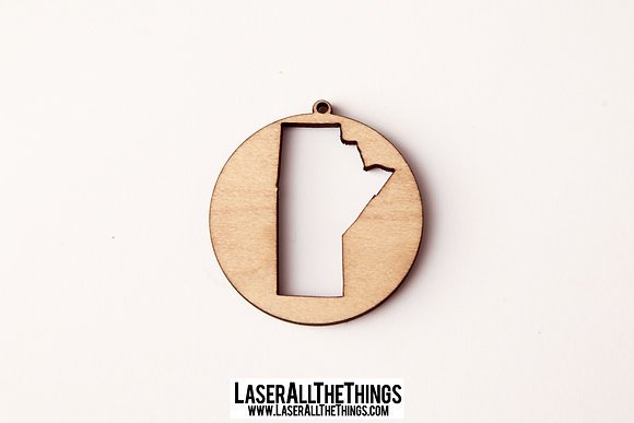 Manitoba Necklace- Wood