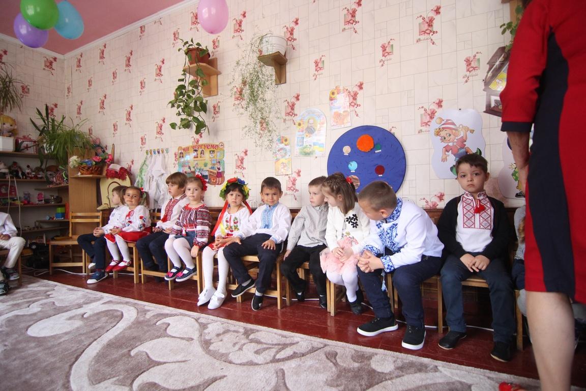 День дошкілля у дитсадках Новоселиць