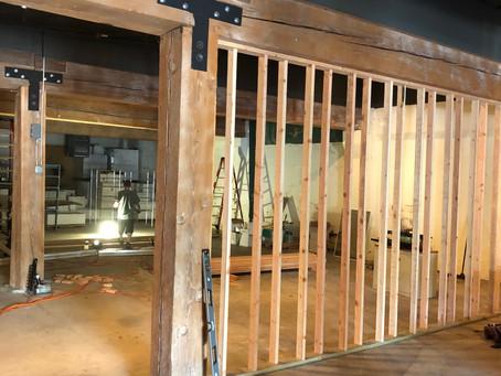 Framing Starts on Wildwood Academy!