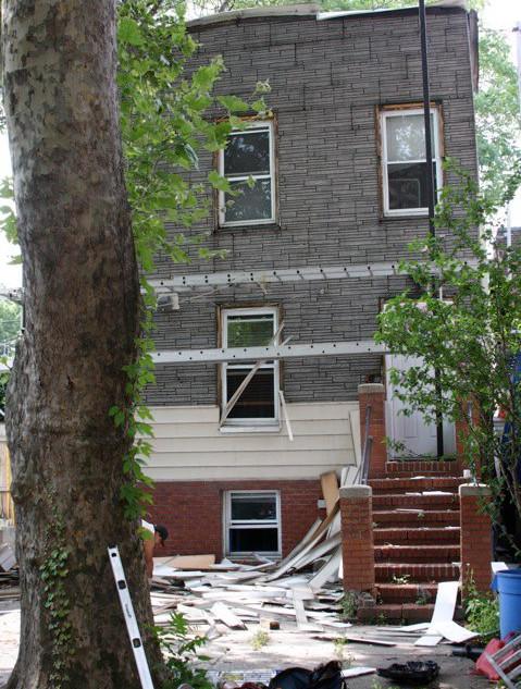 Outside renovations