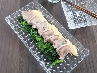 【節約レシピ】簡単オードブル!豚タンの辛子マヨソース
