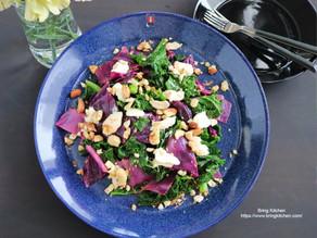 スーパーフードで綺麗に♪【レシピ】ケールと紫キャベツのサラダ