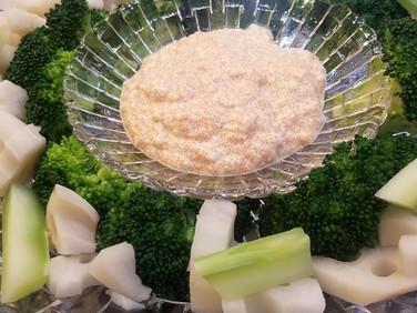 【レシピ】ブロッコリーと根菜のタラコソイディップ