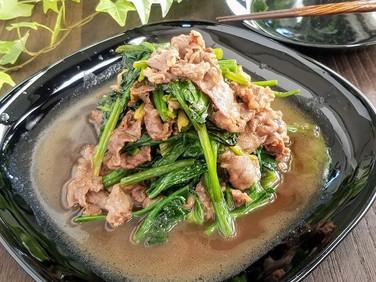 【節約レシピ】栄養満点!焼肉ほうれん草