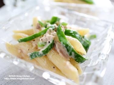 料理初心者さんにオススメ♡【レシピ】ピーマンとツナのパスタサラダ