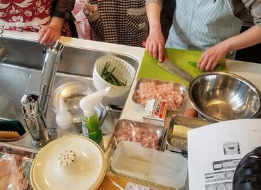 料理教室 2月レッスンを準備中!