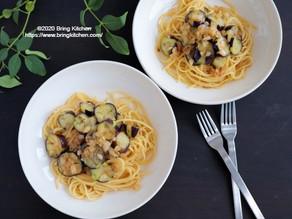 材料3つで本格イタリアン!【レシピ】茄子が主役のスパゲティ