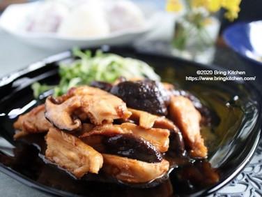 おうち居酒屋★【レシピ】やげん軟骨と椎茸の甘辛炒め