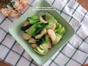 炒め方に秘密アリ★【レシピ】青梗菜と長芋のアンチョビ炒め
