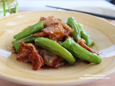 材料3つでメイン!【レシピ】豚肉とししとうの甘味噌炒め