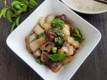 【レシピ】鶏モツの味噌炒め
