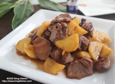 スパイスアンバサダー♪【レシピ】砂肝とじゃがいものコリアンダー炒め