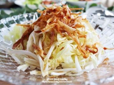 冬に楽しむサラダ♪【レシピ】白菜のシンプルサラダ