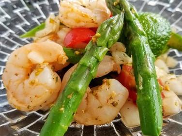 旬の野菜♡アスパラガスのセビーチェ