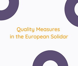 Quality Measures in the European Solidarity Corps