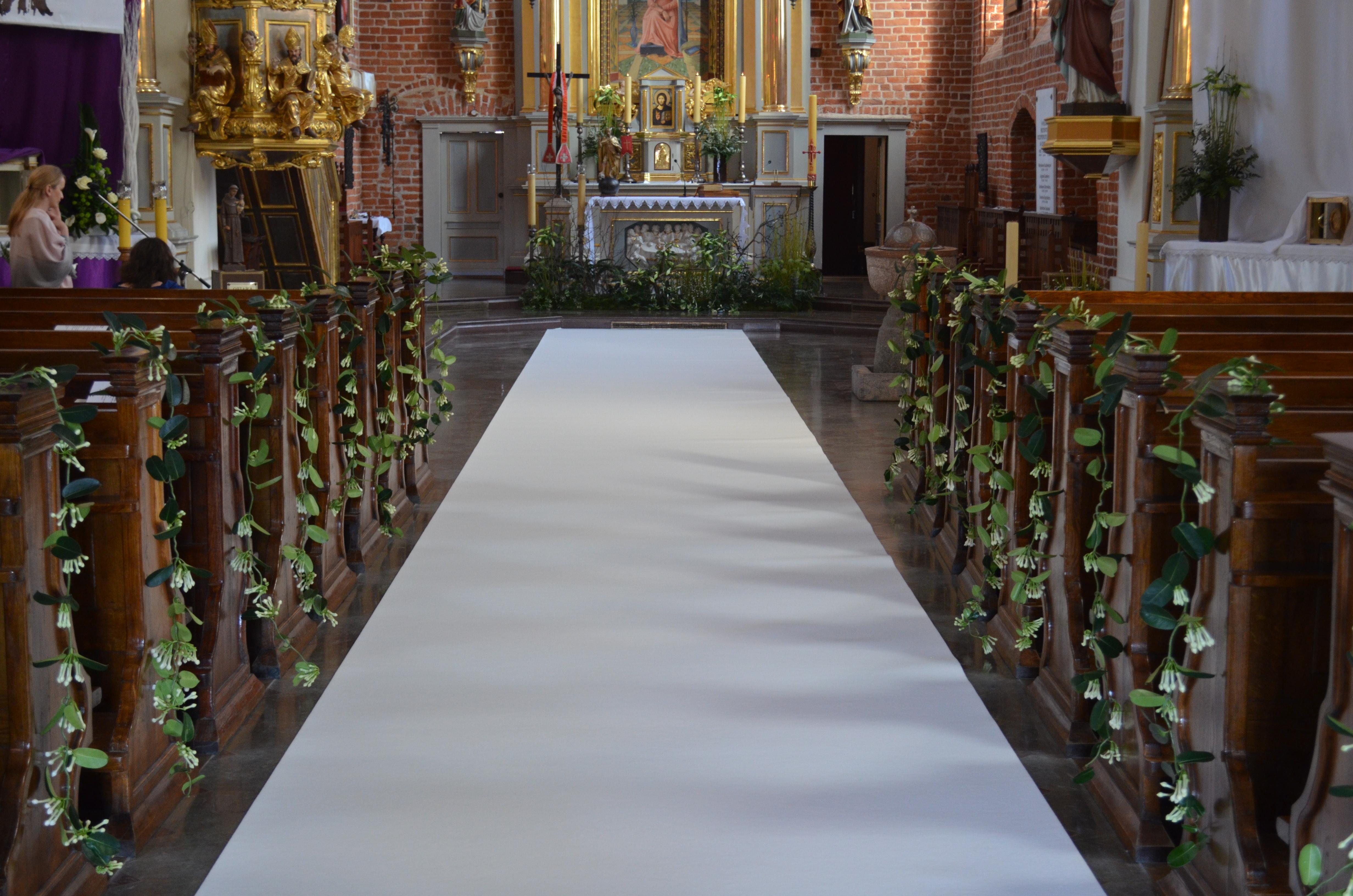 dekoracja kościoła