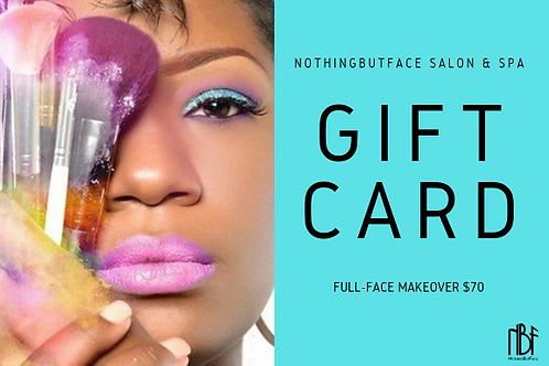 Full-Face Gift Certificate