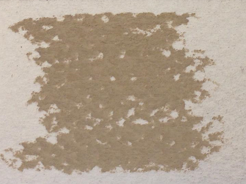 Terre d'ombre naturelle pâle : 1 Pastel