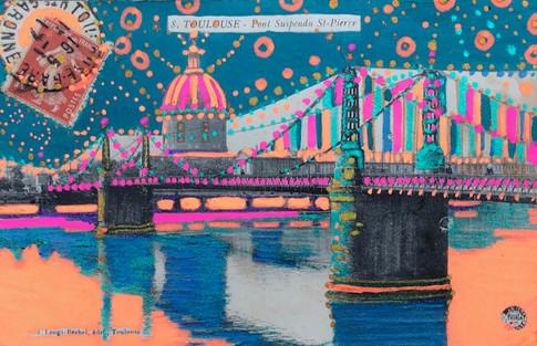 Toulouse - Pont Suspendu St-Pierre 6896