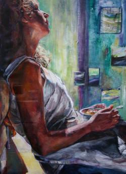 Bowl of Landscape Paintings