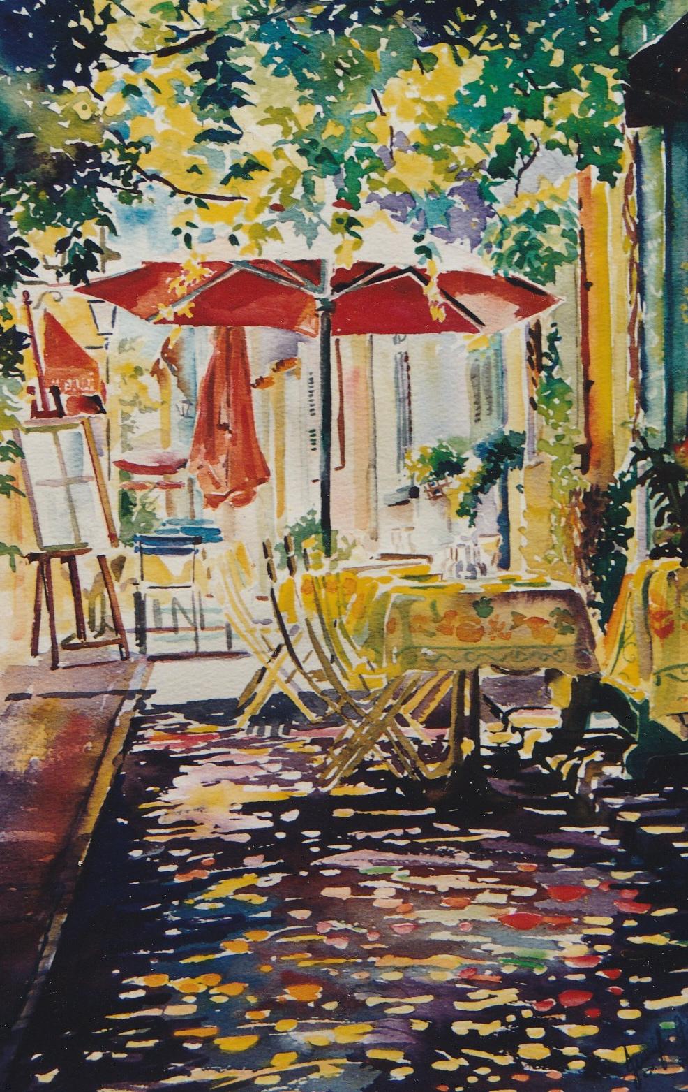 Provence Sunshower