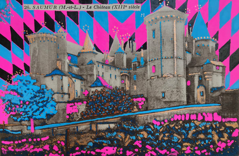 Saumur - Le Chateau XIII siecle NM8