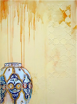 Moroccan Texture 1 (diptych) - 025