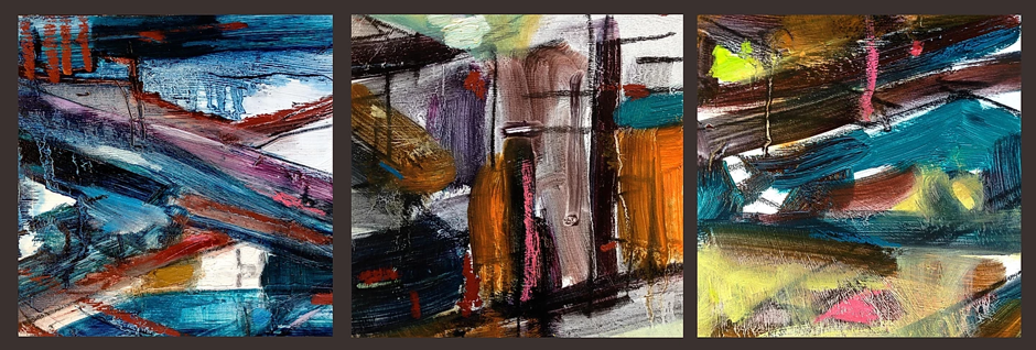 Rue Dunkirque - Triptych