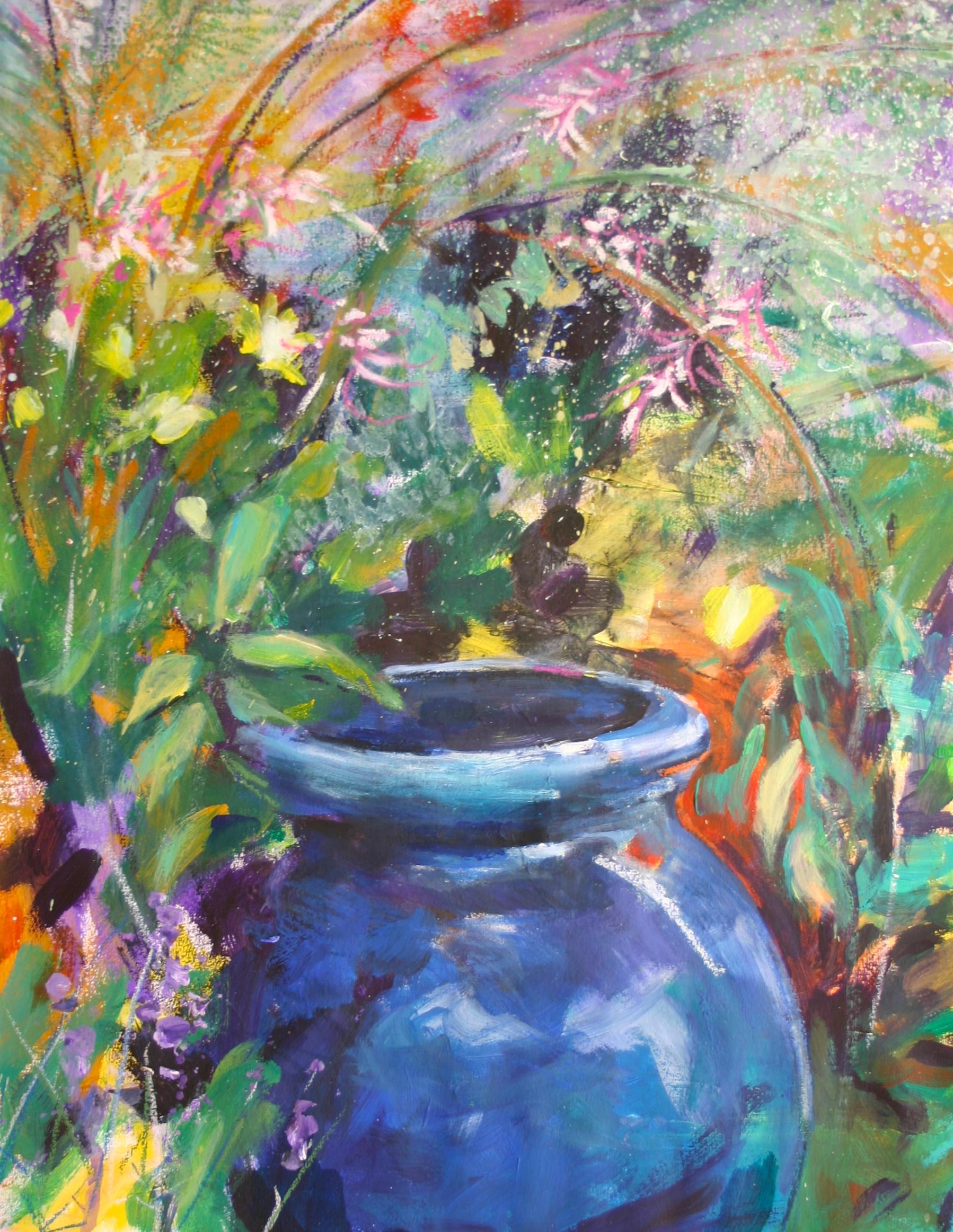 Blue Pot 9560