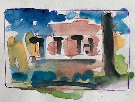 NM27 Night Painting: Inn on La Lomas Plaza