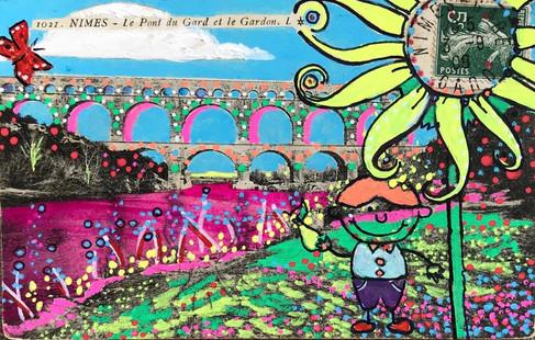 Nimes - Le Pont du Gard 6786