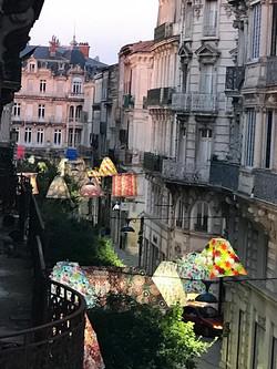 Street lanterns from my window