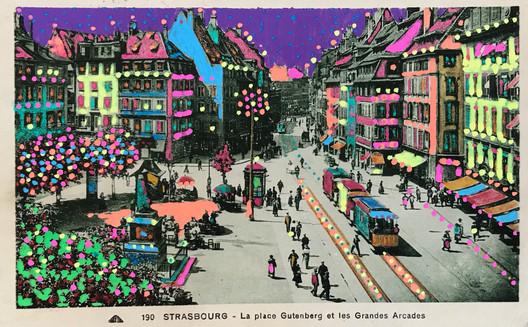 Strasbourg - La Place Gutenberg6978