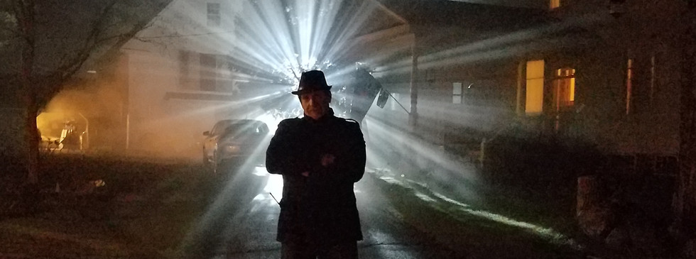 Producer Ed Polgardy - Basking in the creepy atmosphere of THE WRETCHED.