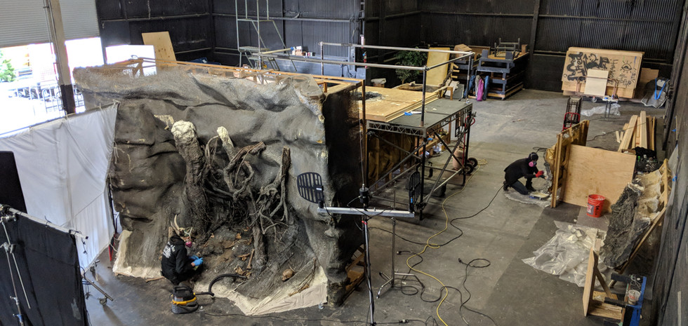 THE WRETCHED - Building the Wretch's Lair.