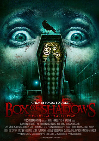 BOX OF SHADOWS (THE GHOSTMAKER) Movie Po