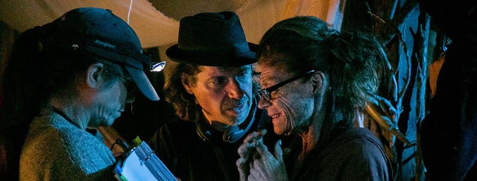 Ed Polgardy directing Meg Foster on the set of S2K.