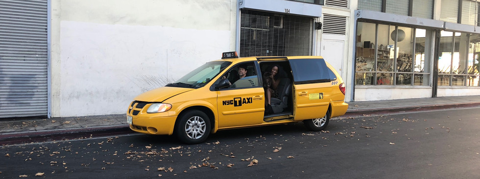 Another cameo by Ed Polgardy as a New York Cab Driver in OH JEROME, NO - 3