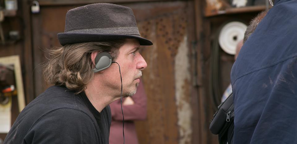 Producer-Director Ed Polgardy monitors the  sound on S2K