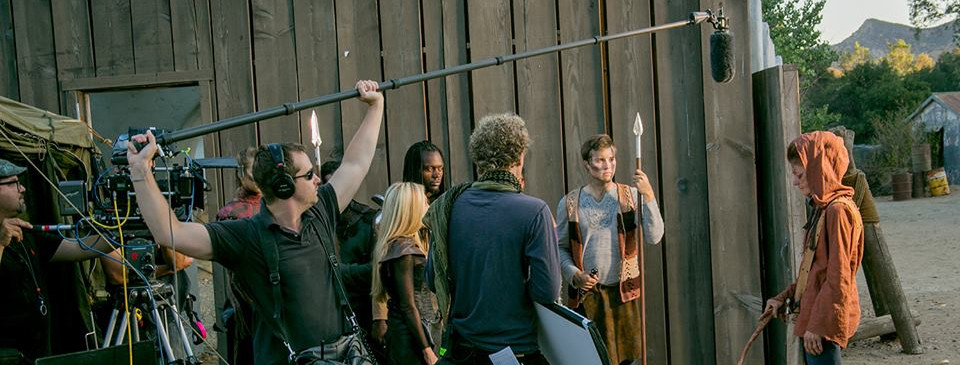 Filming Meg Foster in S2K.