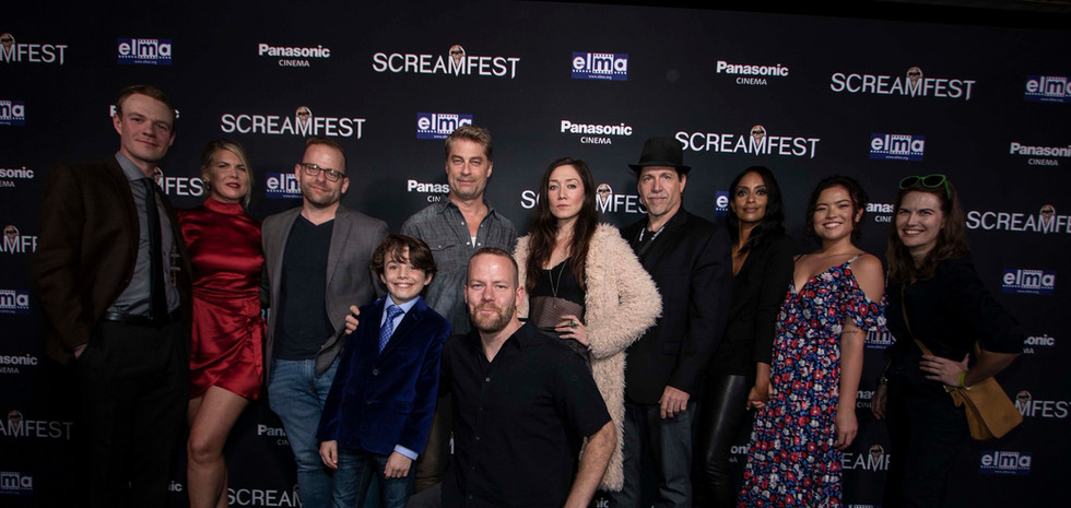 WRETCHED Group Shot at Screamfest.