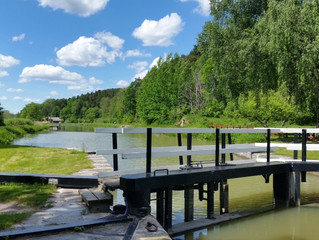 Entlang dem Göta-Kanal