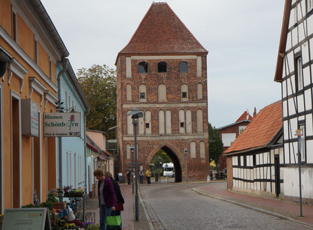 """Besuch der """"Stadt"""" Usedom und des Schlosses in Stolpe"""