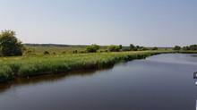 """Bodden-Bootsfahrt auf dem """"Prerower Bodden""""."""
