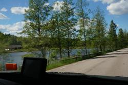 unerwegs in Schweden