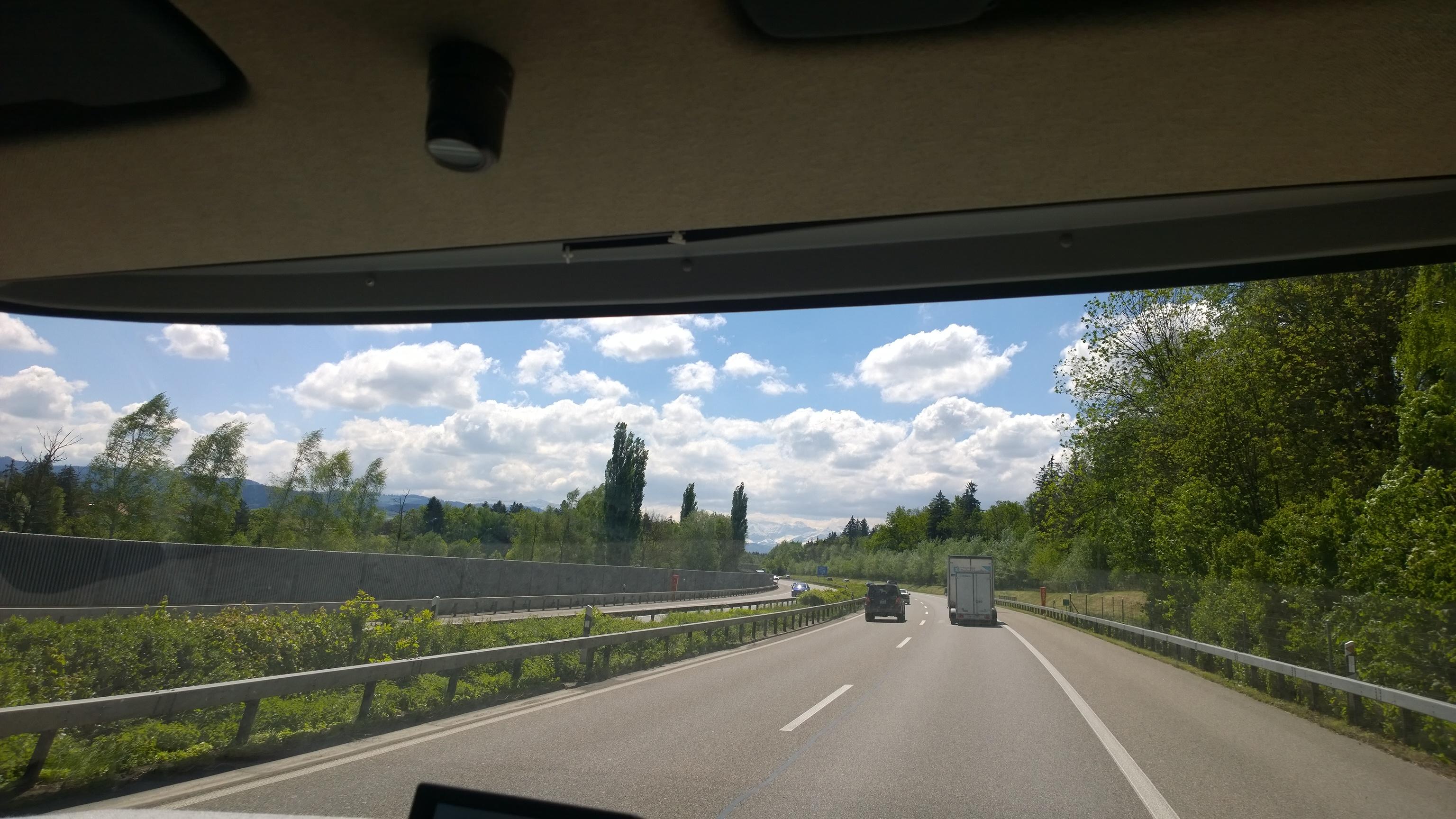Richtung Brienz, Camping Aaregg
