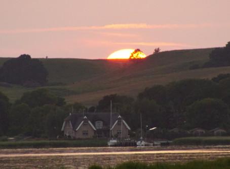 ein ganz spezieller Sonnenuntergang