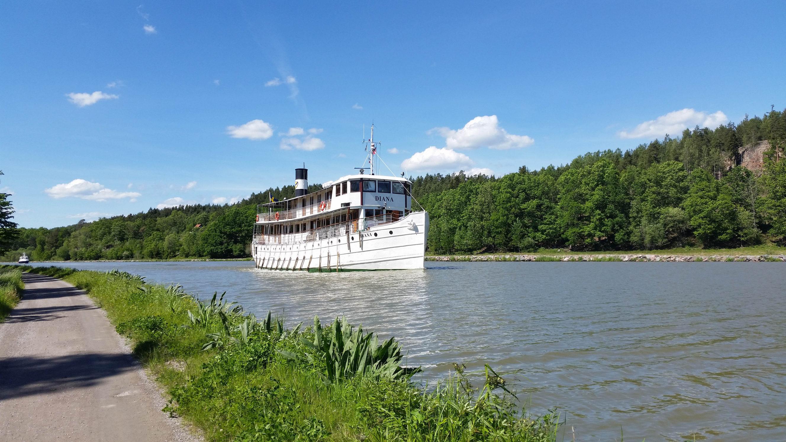 Göta Kanal Schiff