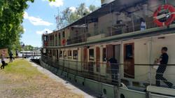 Göta Kanal Schiff Diana